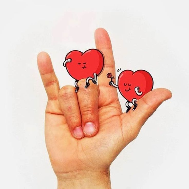 An adorable alphabet in sign language, mixingphotography and illustration, createdbyAlex Solisfor the SpanishwebsiteLa Limonada Creativa. We already