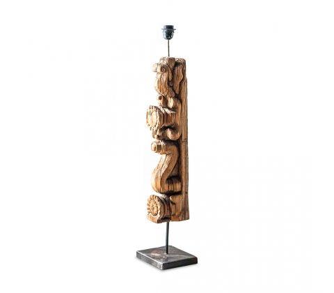 Подставка для лампочки в виде резного декоративного украшения  Изготовлена из массива палисандра Ручная работа