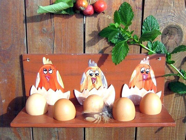 EIER-REGAL Eier frisch vom Bauern in die heimisch Küche