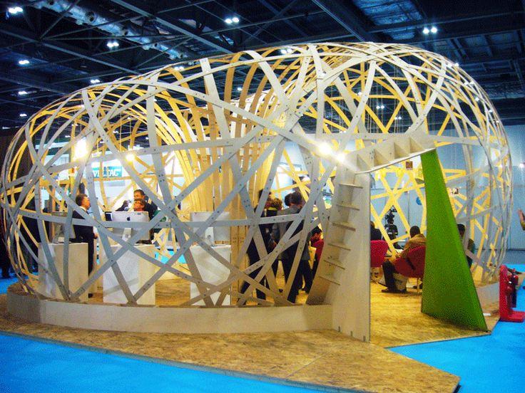 Eco Build http://regenerablog.blogspot.co.uk/2014/03/eco-stands.html