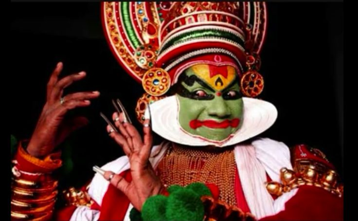 Kathakali is the most well known dance drama from the south Indian state of Kerala.