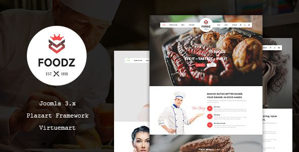 Foodz is a Wordpress topic for nourishment business organizations or people. It will assist you with displaying your beverages and sustenance (cooking, burgers, fries, pizzas, dinners, sausage, bread kitchens, desserts and so forth.) in a simple way so guests see your astounding nourishment. Regardless of in the event that you utilize it for sites on spa and salons.