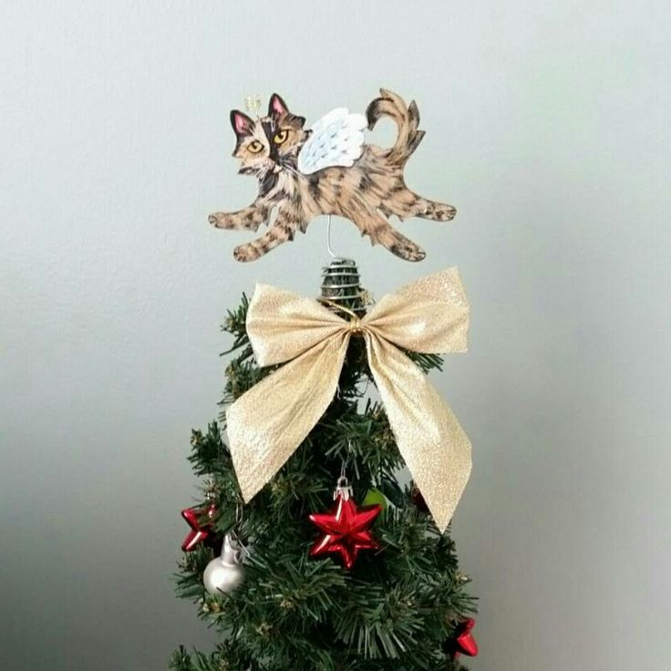 35 best Mini Cat Tree Topper images on Pinterest | Tree toppers ...