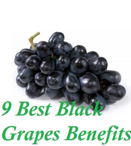 Health and nutrition are two words that can be easily associated with black grapes. Along with being highly juicy and delicious, there are huge benefits that black grapes consumption brings along.