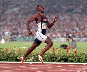 Michael Johnson - Athletics  Sydney 2000 - 400m  Atlanta 1996 - 200m & 400m  Barcelona 1992 - 4 x 400m Relay