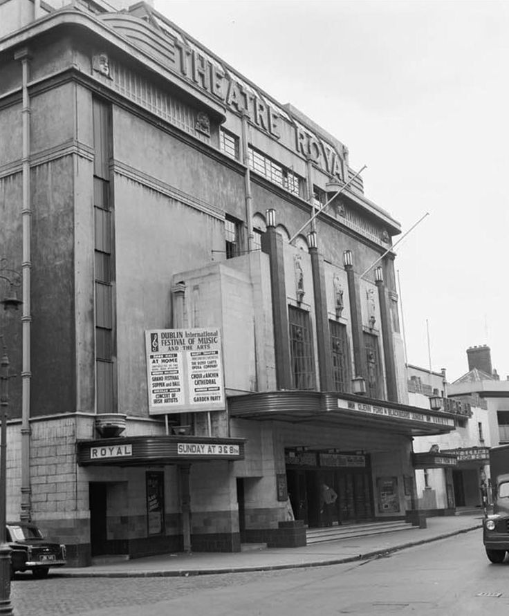 The Theatre Royal Dublin 1959. Judy Garland played the Theatre Royal, wowing punters who couldn't get tickets by singing from her dressing room window. And Danny Kaye was fondly remembered for many years by the taxi drivers of Dublin. He sang so many encores that everyone missed the last bus home.
