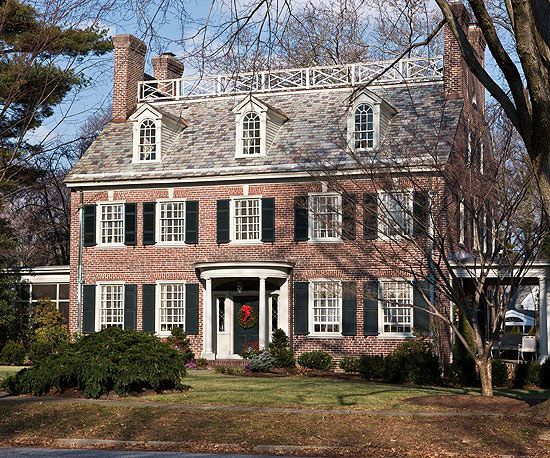 160 Best Red Brick Houses Images On Pinterest