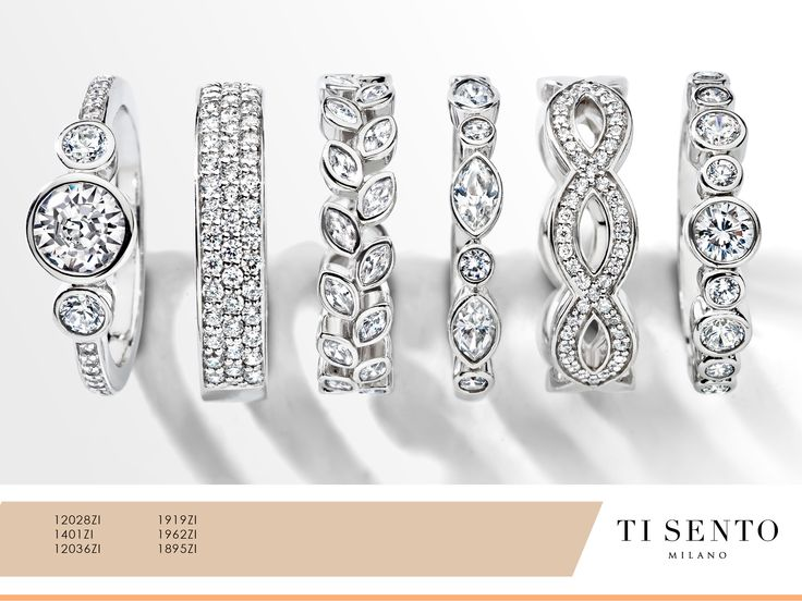 Ti Sento brings you the classics that is perfect for a night out. Which ring would you wear tonight?