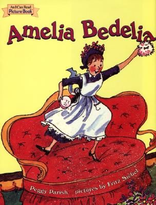 Amelia Bedelia! I loved these books! :D I still remember her date and sponge cakes. ;) The date cake had the dates from a calender cut out and put into it; the sponge cake she cut up pieces of sponge and put it in the batter. ;D LOL! <3 I guess I've always loved baking. :)