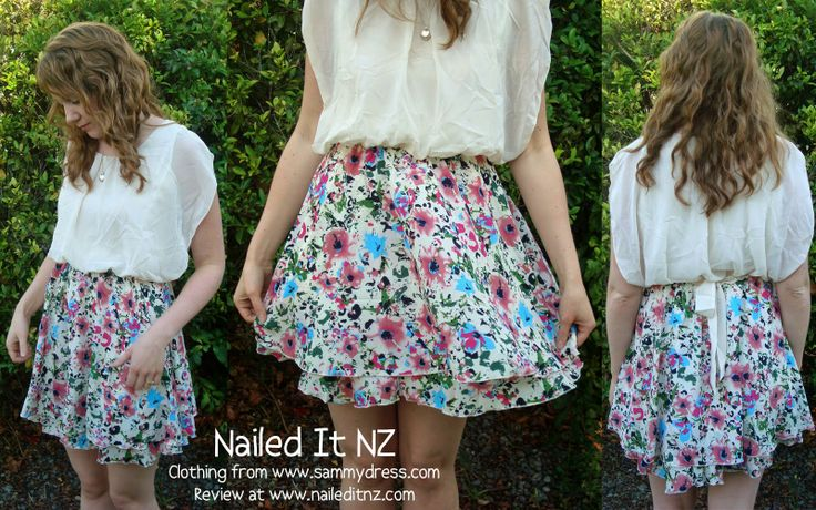 Nailed It NZ: Sammy Dress Review & Matching Floral Nail Art http://www.naileditnz.com/2014/04/sammy-dress-review-matching-floral-nail.html