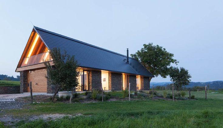 Family house near Železný Brod by ov architekti