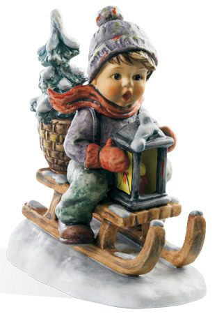 "Hummel  Ride into Christmas (4.25"") $223.20"