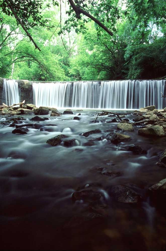 Iowa Waterfalls: Union Grove State Park Spillway, Gladbrook