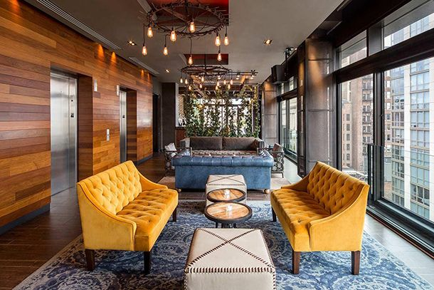 Luxury hotel rooms in NYC for $100 (seriously). #nyc #hotel #travel