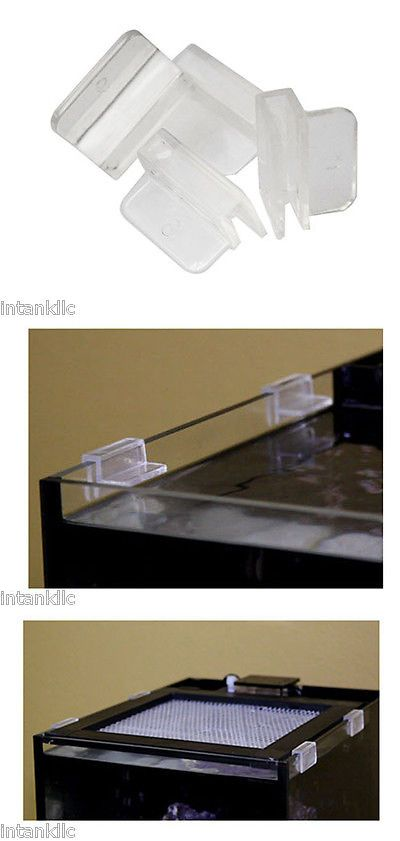 Other Fish And Aquarium Supplies 8444 Lid Screen Clips Innovative Marine For Rimless