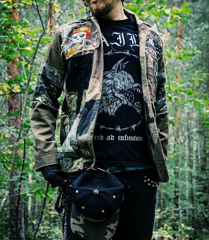 Armageddon Cargo Punk Jacket