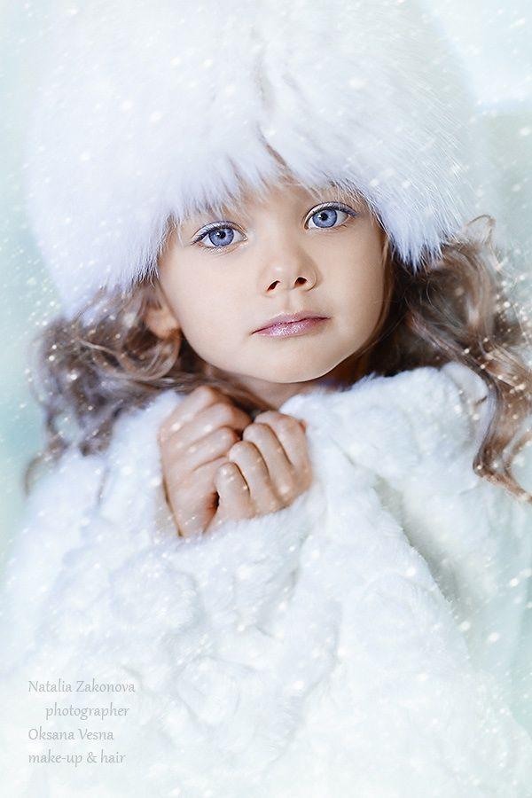 Winter beauty,,,Those beautiful blue eyes  ~☆~