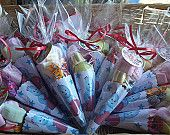 10 x In the Night Garden Iggle Piggle Filled Party Cones Favor Bags