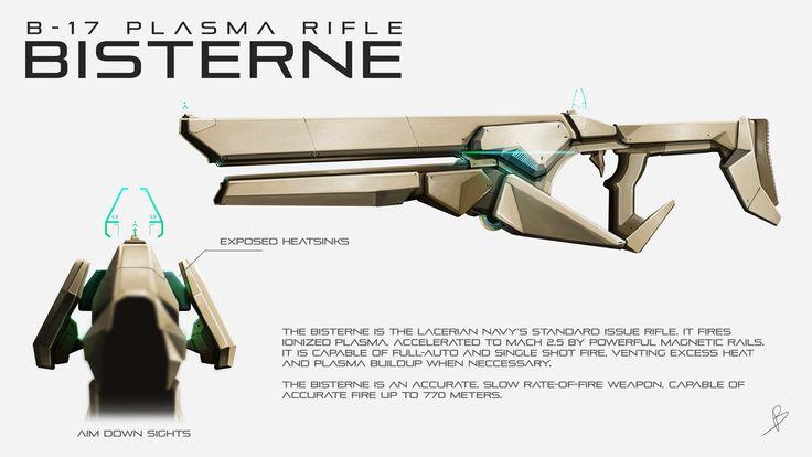 B-17 Plasma Rifle by BenedictNeoh