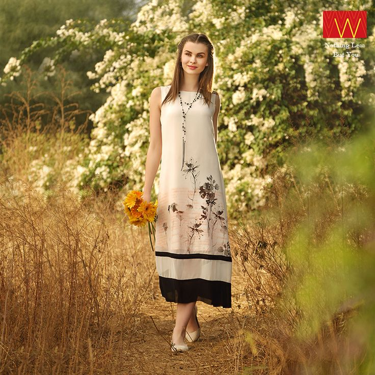 Floral Beauty ‪#‎WWear‬ http://www.wforwoman.com/products/ss15-latest-collection/wishful-collection/