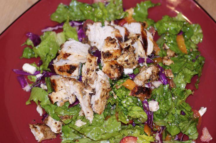Balsamic Chicken Salad with a Twang  www.facebook.com/myawesomefoods