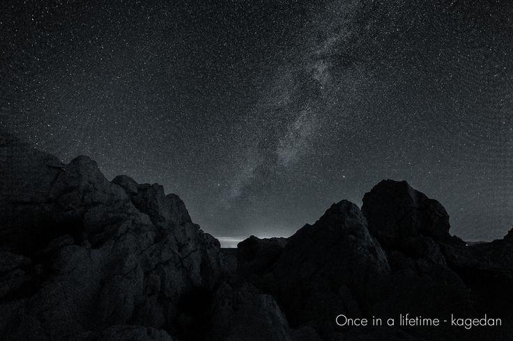 https://flic.kr/p/y1CK5t   星々が眠りにつく前に   天の川ってモノクロで現像しても良い雰囲気ですよね。