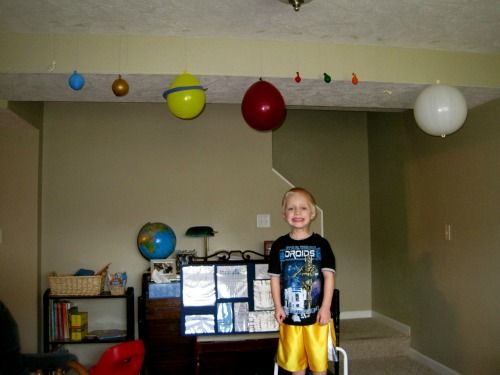 How a family homeschooling 2 boys used Apologia Astronomy for #homeschool science. From Erin at Home With the Boys.