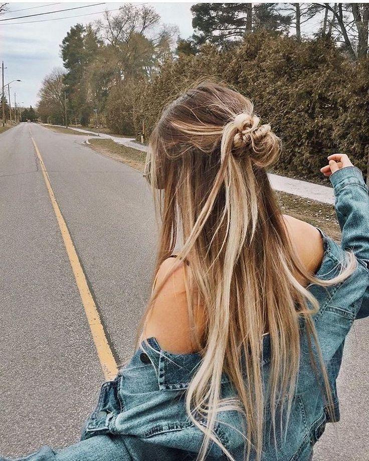 Diese Frisuren sind hübsch, Frisur, Haar, Brötchen, süß