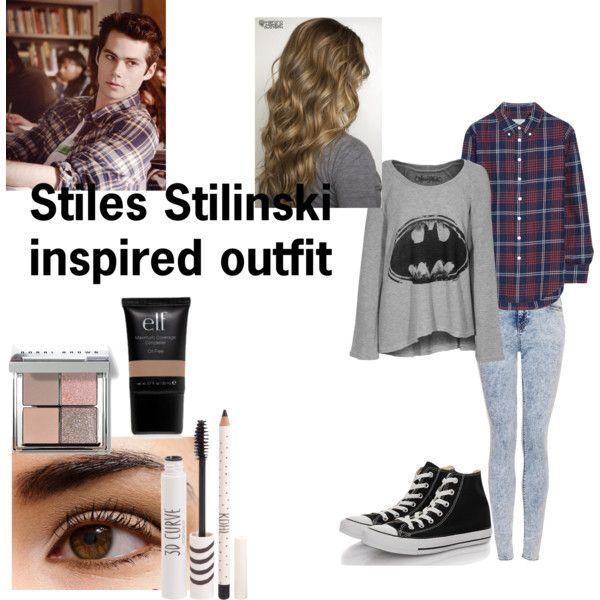 Teen wolf-Stiles Stilinski inspired outfit