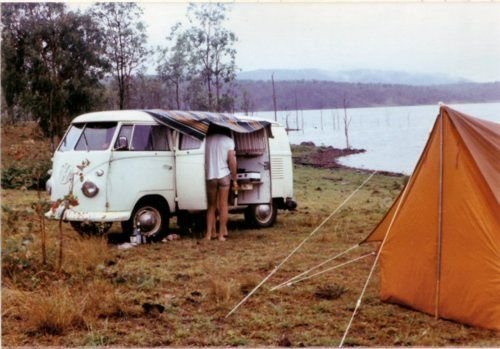 van, tent, and secluded spot. bliss together.