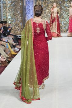 PFW Latest 2014 Zaheer Abbas Bridal Collection