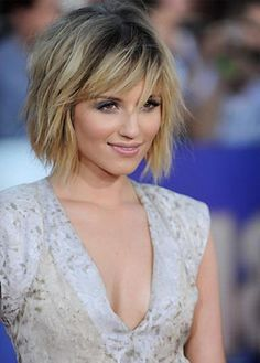 Short Shaggy Bob Hair Cut With Bangs , This Style Is A Combination Between Bob…