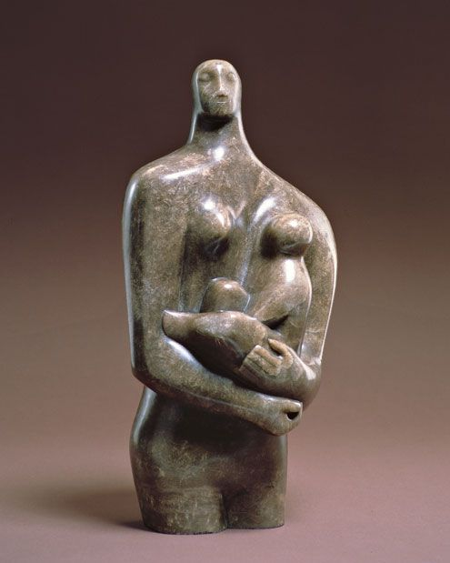 Henry Moore, Mother and Child                              …