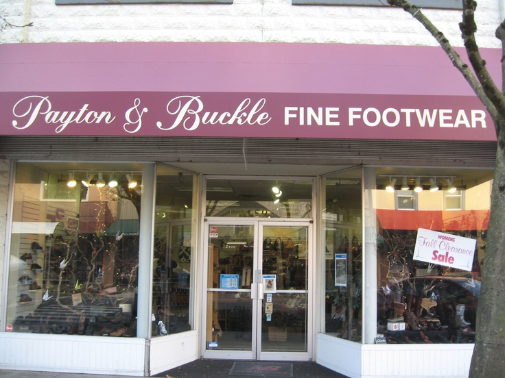 For the best quality shoes and boots, shop Payton & Buckle Fine Footwear on Wellington Avenue in downtown Chilliwack.