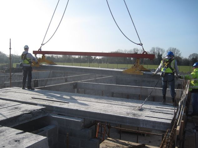 Precast Hollowcore Flooring & Stairs for Teagasc Food Research Centre
