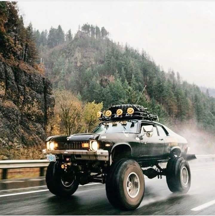 Ich sah einen Camaro der Mitte der 70er Jahre in Kanada, und ich war sprachlos für einen anderen