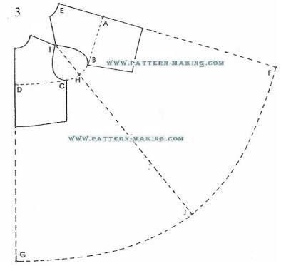 Risultati immagini per how to draft a pattern for a cape