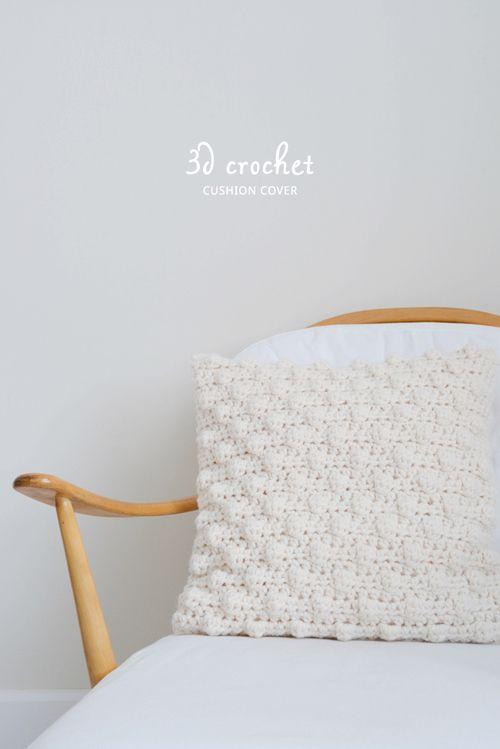 145 best Crochet - Cushions & Pillows images on Pinterest | Crochet ...