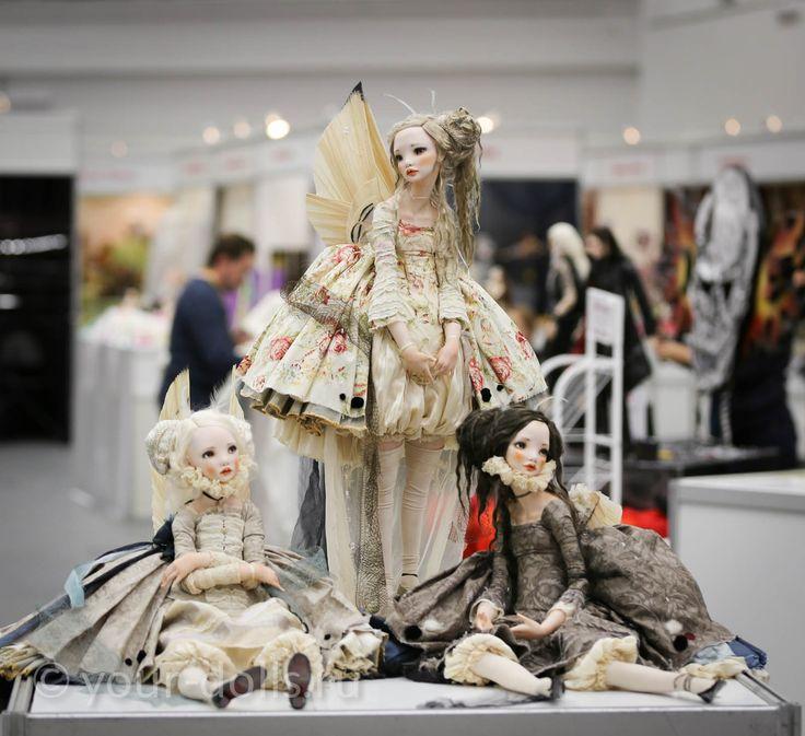 Новые авторские куклы Алисы Филипповой