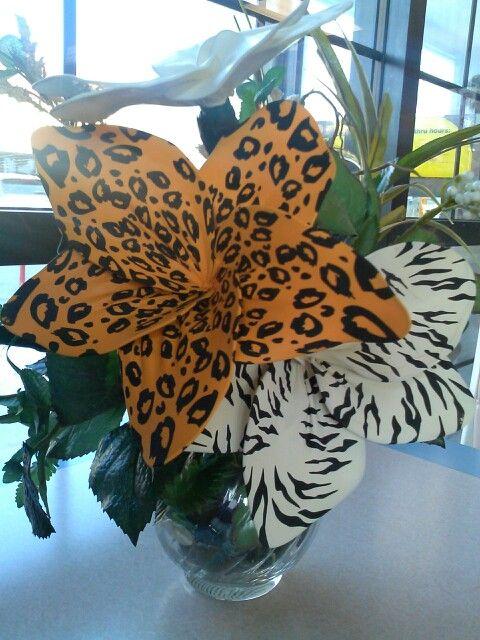 Flores de latex.... flowers of latex...