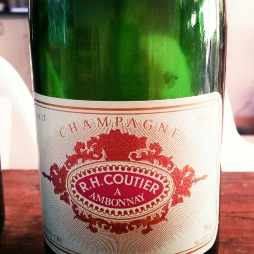 R H Coutier Champagne