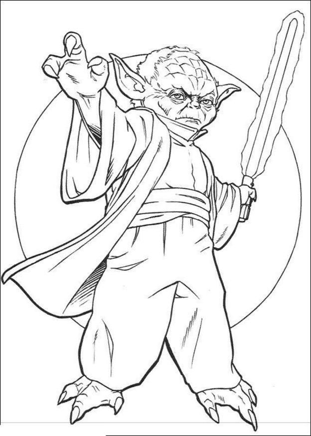 40 best Star Wars images on Pinterest  Coloring pictures for kids