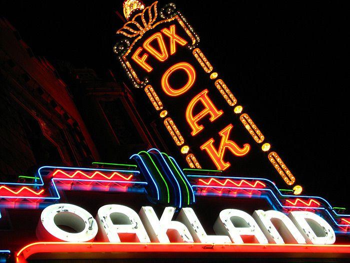 Movie Theatre Signs, San Francisco