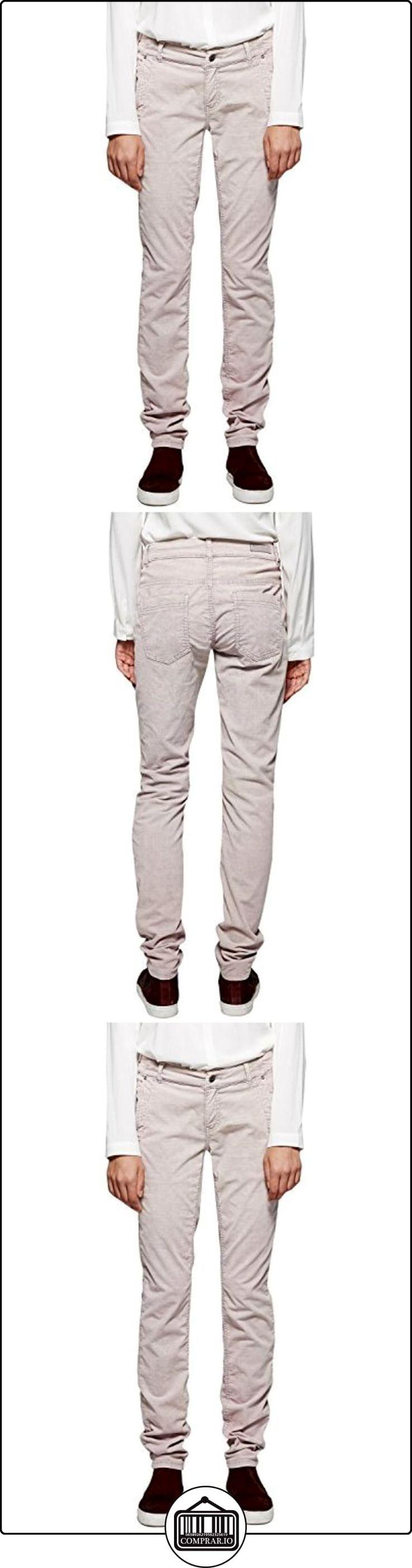 Comma CI 88.510.73.4504-Pantalones Mujer,    Gris - Grau (light mauve 4161) 40/L32  ✿ Vaqueros ✿