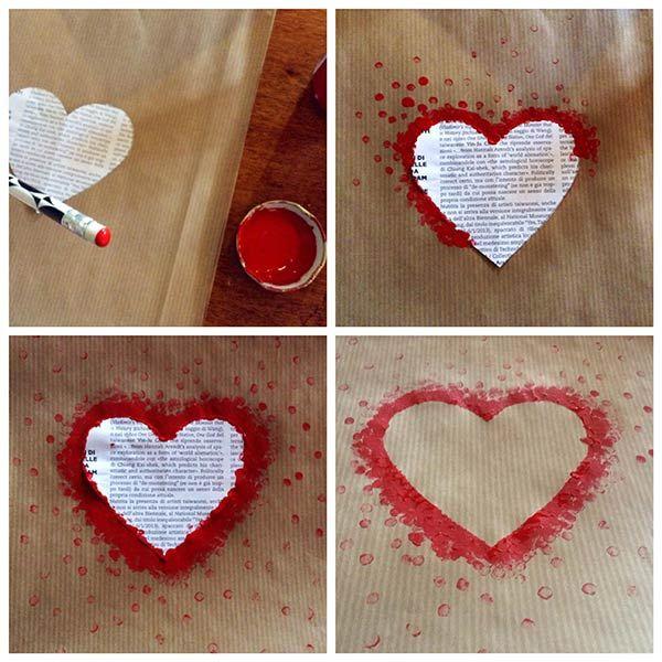 Preferenza Oltre 25 fantastiche idee su Fai da te per san valentino su  KL24