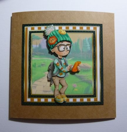 Adventurous Boy on Craftsuprint - View Now!