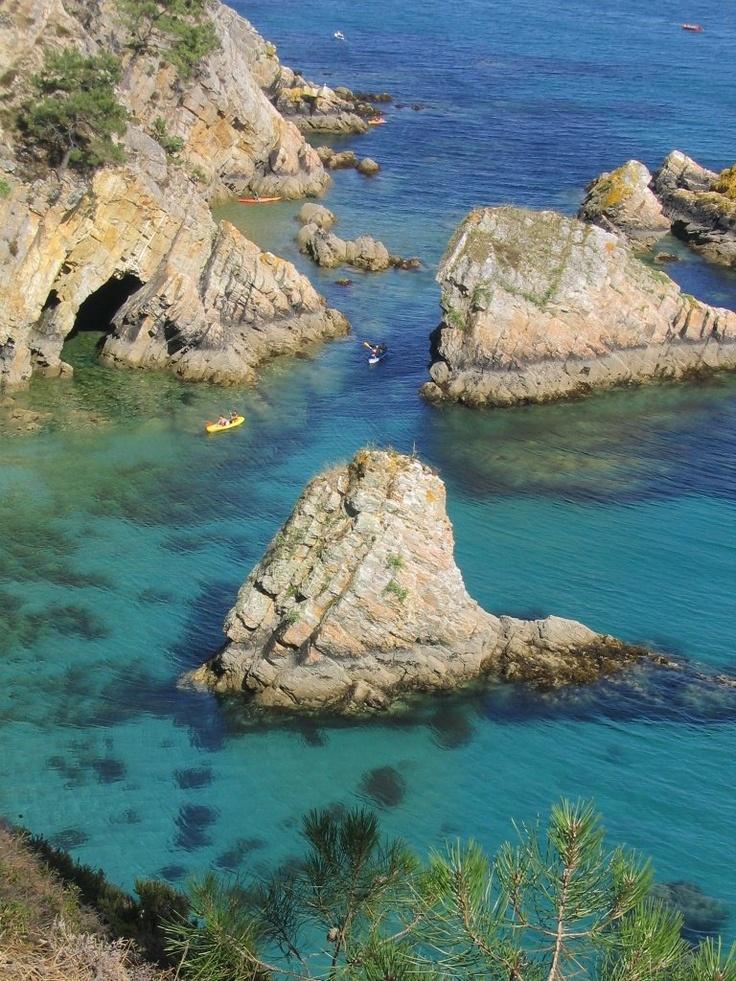 Crique à Crozon - Finistère Bretagne #Bretagne #brittany #France #tourism