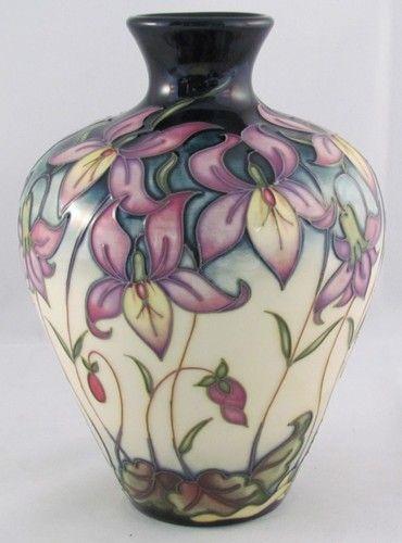 Moorcroft, Queens Meadow, Limited Edition of 200, Rachel Bishop, 2008