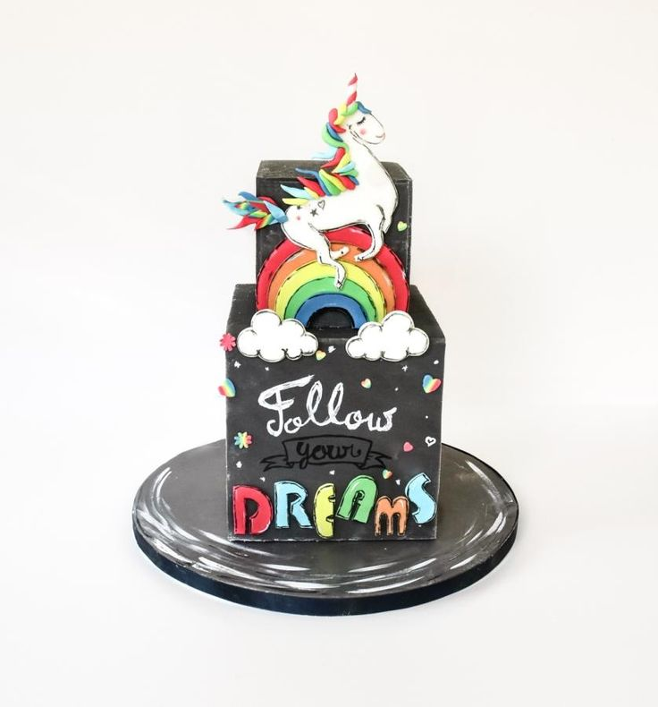 Sugar Art for Autism Unicorn Cake :) by Meadowsweet Cakes ...