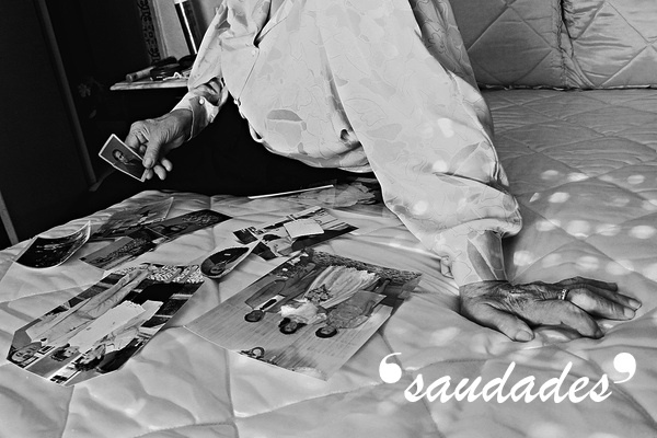 Saudade: recollection of feelings, experiences, places or events that once brought excitement, pleasure, well-being, which now triggers the senses and makes one live again; a somewhat melancholic feeling of incompleteness; a Brazilian Portuguese word that has no direct translation in English.